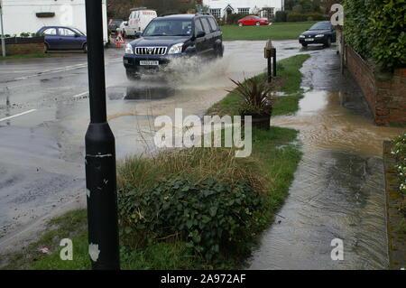 Flooding, South yorkshire - Stock Photo