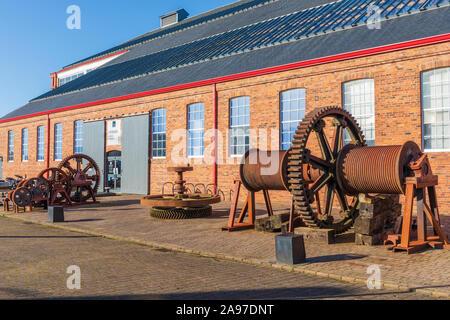 Scottish Maritime Museum, Irvine, Ayrshire, Scotland, UK - Stock Photo