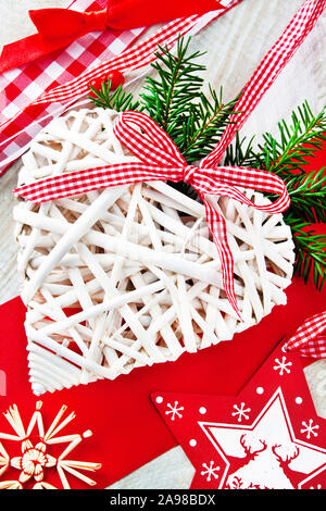 Christmas  decoration and heart