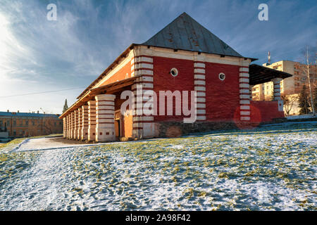 November 9, 2019 Nizhny Tagil, Sverdlovsk Region, Russia. The building of the Museum of Nature and Environmental Protection. - Stock Photo