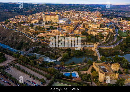 Alcázar de Toledo, Toledo, Spain - Stock Photo