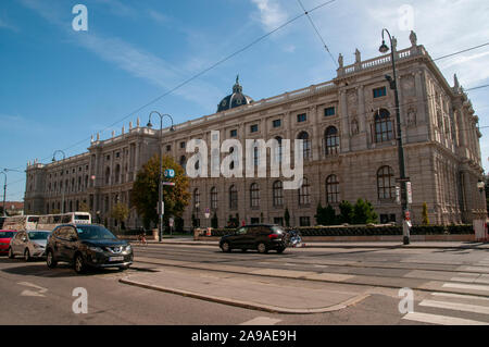 Exterior of the Natural History Museum, Vienna, Austria - Stock Photo