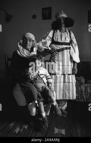 Northern Albania, 1992. - Stock Photo