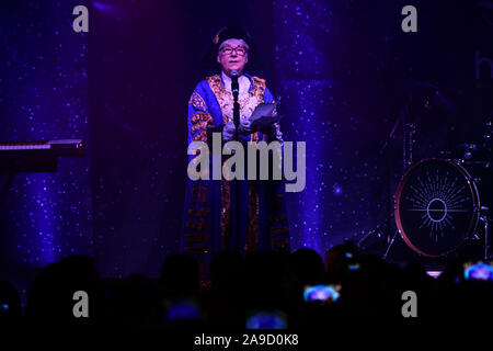 London, UK. 14th Nov, 2019. Regent Street Christmas Lights switch-on celebrate its 200th anniversary on 14 November 2019, London, UK. Credit: Picture Capital/Alamy Live News - Stock Photo