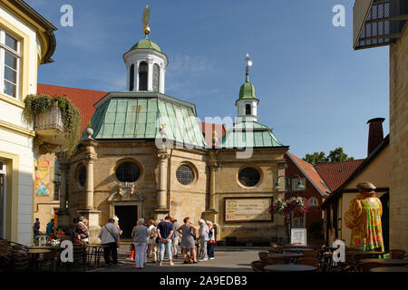 Chapel of Mary in the Old Town of Telgte, Münsterland, North Rhine-Westphalia, Germany - Stock Photo
