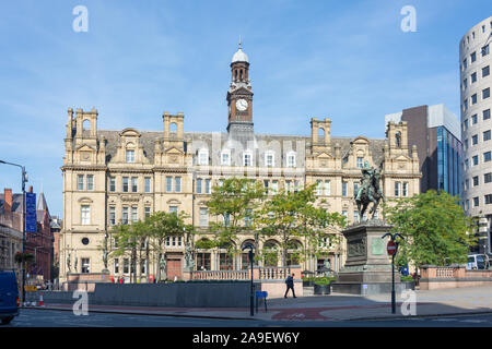 The Old Post Office, City Square, Leeds, West Yorkshire, England, United Kingdom - Stock Photo