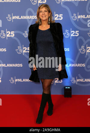 The BBC1's National Lottery Awards 2019 - 25th Birthday Celebrations held at BBC TV Centre, Wood Lane - Arrivals Featuring: Penny Smith Where: London, United Kingdom When: 15 Oct 2019 Credit: Mario Mitsis/WENN.com - Stock Photo