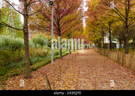 Paris, Stadtentwicklungsgebiet Clichy-Batignolles, Parc Martin Luther-King