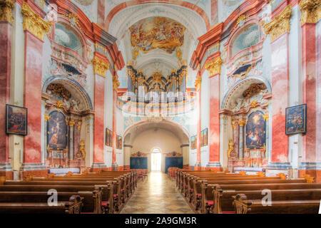 Stift Altenburg, Waldviertel, Niederˆsterreich, ÷sterreich / Convent Altenburg, Waldviertel Region, Lower Austria, Austria - Stock Photo