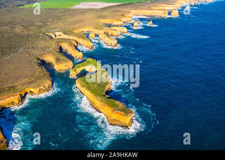 Muttonbird Island is an island and part of Port Campbell National Park along the Great Ocean Road in Victoria, Australia