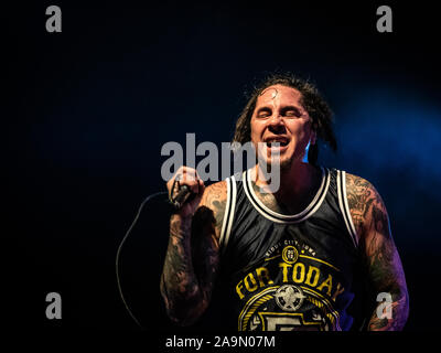 Milan, Italy. 14 November 2019. American Christian nu metal band P.O.D. performs at Live Music Club. Brambilla Simone Photography Live News - Stock Photo