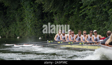 Henley-on-Thames. United Kingdom.   Ladies  Challenge Cup. Brown University, USA 2017 Henley Royal Regatta, Henley Reach, River Thames.   15:20:40  Saturday  01/07/2017     [Mandatory Credit. Peter SPURRIER/Intersport Images. - Stock Photo