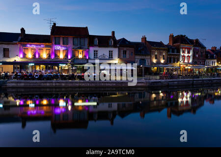 St Leu district, Amiens, Somme department, Picardy region, France - Stock Photo