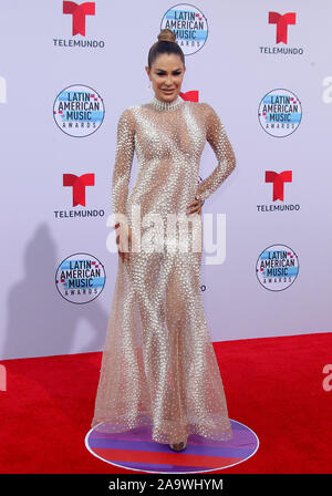 Latin American Music Awards 2019 held at the Dolby Theatre in Hollywood, California. Featuring: Ninel Conde Where: Los Angeles, California, United States When: 17 Oct 2019 Credit: Adriana M. Barraza/WENN.com - Stock Photo