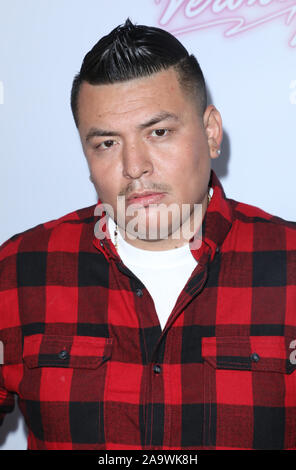 Los Angeles, California, USA. 14th November, 2019. Rapper 'Invinceable' at  the Academy LA in Hollywood, California on November 14, 2019.  Credit: Sheri Determan/Alamy.com - Stock Photo