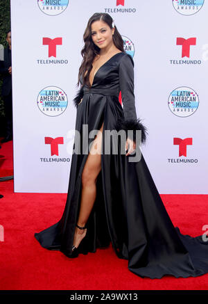 Latin American Music Awards 2019 held at the Dolby Theatre in Hollywood, California. Featuring: Emilia Where: Los Angeles, California, United States When: 17 Oct 2019 Credit: Adriana M. Barraza/WENN.com - Stock Photo