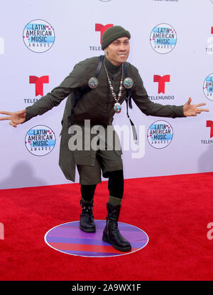 Latin American Music Awards 2019 held at the Dolby Theatre in Hollywood, California. Featuring: Taboo Where: Los Angeles, California, United States When: 17 Oct 2019 Credit: Adriana M. Barraza/WENN.com - Stock Photo