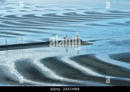 Okoshiki Sea Shore, Kumamoto Prefecture, Japan - Stock Photo
