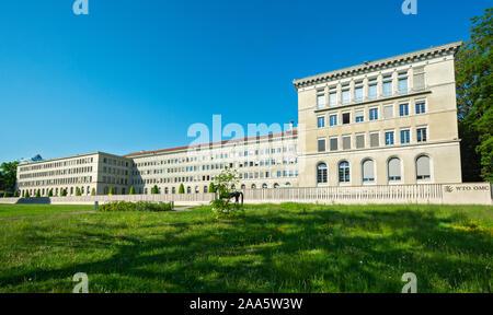 Switzerland, Geneva, World Trade Organization (WTO) building - Stock Photo