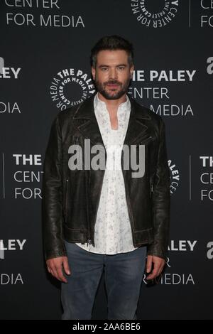 Beverly Hills Ca. 19th Nov, 2019. Charlie Weber attends the How to Get Away with Murder' TV show screening, The Paley Center for Media, Beverly Hills California Credit: Faye Sadou/Media Punch/Alamy Live News - Stock Photo