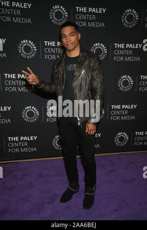Beverly Hills Ca. 19th Nov, 2019. Rome Flynn attends the How to Get Away with Murder' TV show screening, The Paley Center for Media, Beverly Hills California Credit: Faye Sadou/Media Punch/Alamy Live News - Stock Photo
