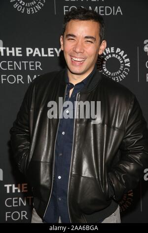 Beverly Hills Ca. 19th Nov, 2019. Conrad Ricamora attends the How to Get Away with Murder' TV show screening, The Paley Center for Media, Beverly Hills California Credit: Faye Sadou/Media Punch/Alamy Live News - Stock Photo