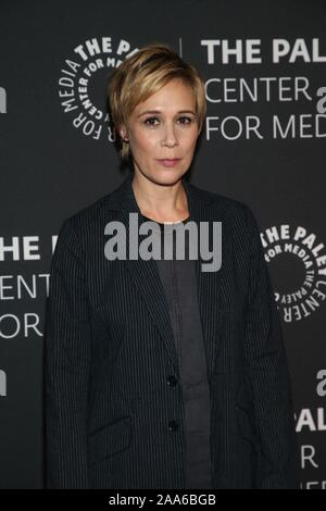 Beverly Hills Ca. 19th Nov, 2019. Liza Weil attends the How to Get Away with Murder' TV show screening, The Paley Center for Media, Beverly Hills California Credit: Faye Sadou/Media Punch/Alamy Live News - Stock Photo