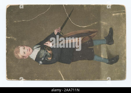 1905-1915. Known as the 'art reproduction' series.; Boy With a Sword, Edward Manet - Stock Photo