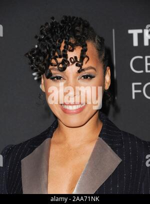 Beverly Hills, CA. 19th Nov, 2019. at arrivals for The Paley Center For Media Presents: An Evening with HOW TO GET AWAY WITH MURDER, The Paley Center for Media, Beverly Hills, CA November 19, 2019. Credit: Elizabeth Goodenough/Everett Collection/Alamy Live News - Stock Photo