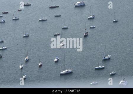 boats in Rio de Janeiro - Stock Photo