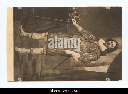 1905-1915. Known as the 'art reproduction' series.; Charles I, Daniel Mytens - Stock Photo