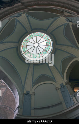 ceiling of the town hall building in Hanover, Germany - Stock Photo