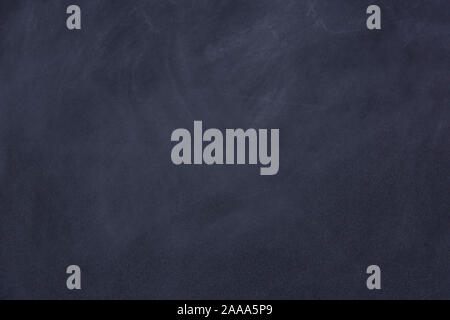 trace chalk rubbed out on blackboard or chalkboard. Clean chalk board surface background - Stock Photo