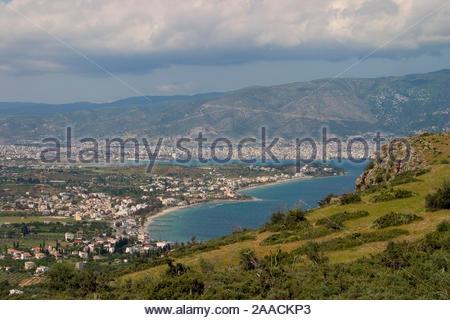europe, greece, pelion, volos, bay - Stock Photo