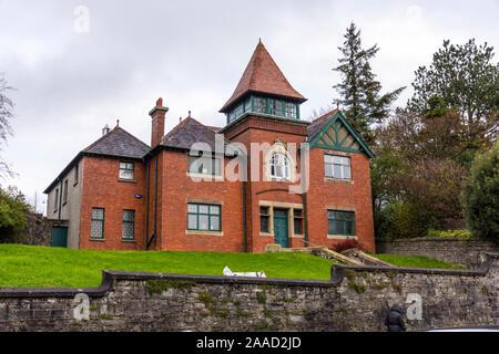 Masonic Hall building in Sligo Town, County Sligo, Ireland - Stock Photo