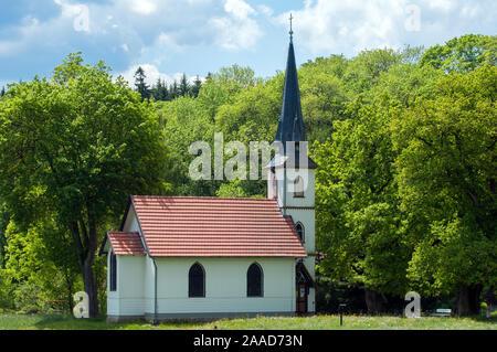 Kirche in Elend, Oberharz, Sachsen Anhalt, Bundesrepublik Deutschland - Stock Photo