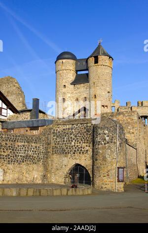 Bundesrepublik Deutschland,Hessen,Greifenstein,Glockenwelt (pr) bei Veröffentlichung angeben: 'Glockenwelt Burg Greifenstein' - Stock Photo