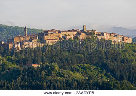 europe, italy, tuscany, seggiano - Stock Photo
