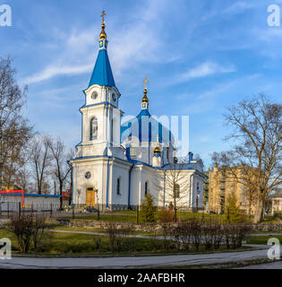 Church of St. Nicholas in sortaval, a monument of cultural heritage of the Republic of Karelia. - Stock Photo