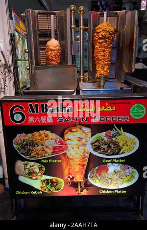 Döner Kebab jetzt auch in Patong Beach, Phuket, Thailand - Stock Photo