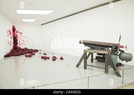 Anish Kapoor: Shooting into the Corner (2008-2009) - Stock Photo