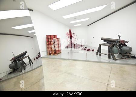 Anish Kapoor: Shooting into the Corner (2008-2009), Double Vertigo (2012) - Stock Photo