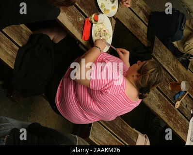 Obesity, medical condition, public health issue - Stock Photo