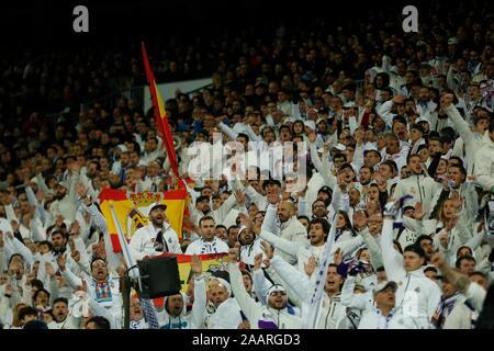 Madrid, Spain. 23rd Nov, 2019. DURING MATCH REAL MADRID VERSUS REAL SOCIENDAD IN SANTIAGO BERNABEU STADIUM. SATURDAY, 23 NOVEMBER 2019 Credit: CORDON PRESS/Alamy Live News - Stock Photo