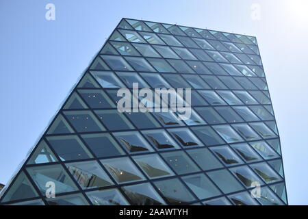 The exterior of Prada store designed by the famous architects Herzog & De Meuron in Aoyama district in Tokyo, Japan - Stock Photo