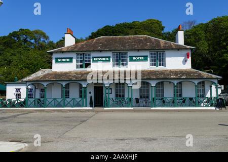Hotel an der Promenade von North Kessock an der Beauly Firth Bucht  in Schottland - Stock Photo