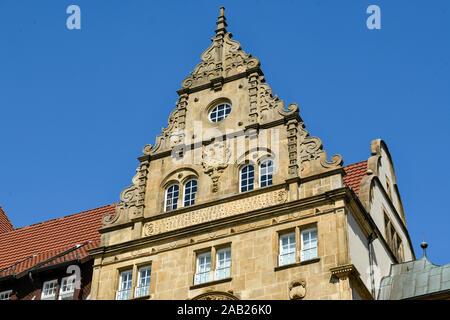 Altes Rathaus, Niederwall, Bielefeld, Nordrhein-Westfalen, Deutschland - Stock Photo
