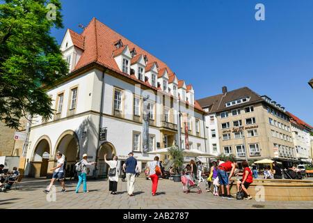 Theater am Alten Markt, Alter Markt, Bielefeld, Nordrhein-Westfalen, Deutschland - Stock Photo