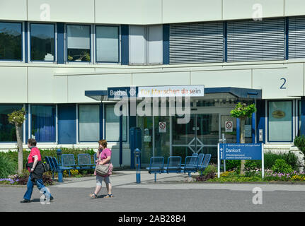 Dankort, ProWerk, Von Bodelschwinghsche Stiftungen Bethel, Bielefeld, Nordrhein-Westfalen, Deutschland - Stock Photo