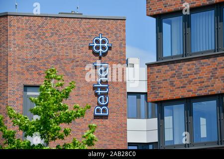 Hauptverwaltung, Von Bodelschwinghsche Stiftungen Bethel, Königsweg, Bielefeld, Nordrhein-Westfalen, Deutschland - Stock Photo